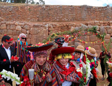 Andean Marriage in Cusco