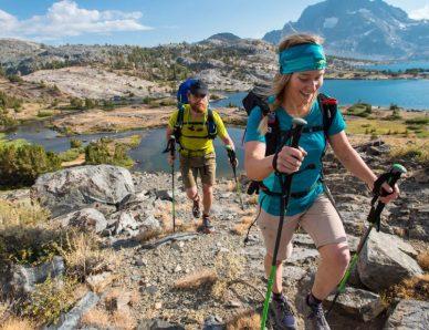 ¿Cómo elegir tus bastones para trekking?