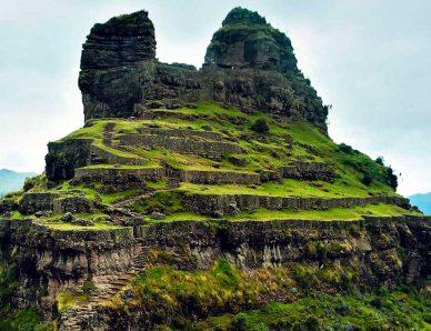 Waqrapukara – Un Lugar Asombroso
